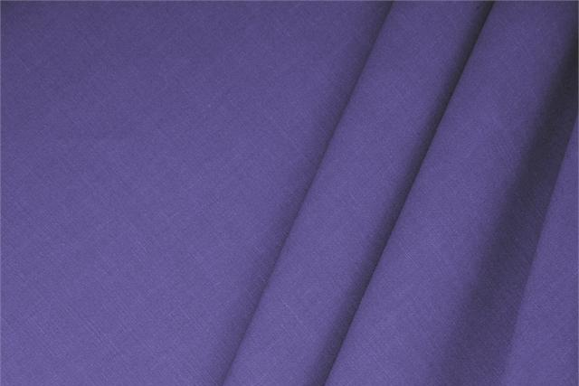 Buy online our clothing and fashion fabric Linen Blend Purple Iris, Made in Italy. - new tess