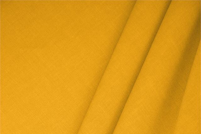 Buy online our clothing and fashion fabric 'Girasole' Yellow  Linen Blend, Made in Italy. - new tess