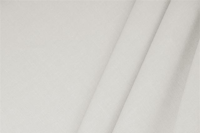Buy online our clothing and fashion fabric 'Perla' Silver  Linen Blend, Made in Italy. - new tess