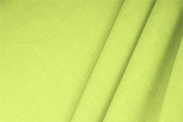 Buy online our clothing and fashion fabric 'Ramarro' Green  Linen Blend, Made in Italy. - new tess