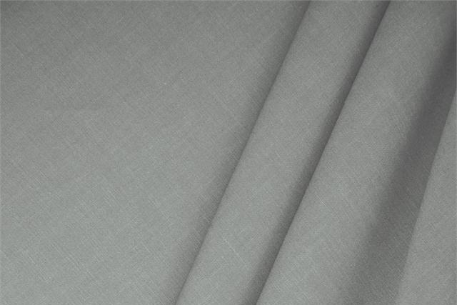 Buy online our clothing and fashion fabric 'Acciaio' Gray  Linen Blend, Made in Italy. - new tess