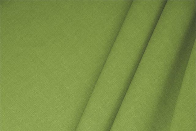 Buy online our clothing and fashion fabric 'Erba' Green  Linen Blend, Made in Italy. - new tess
