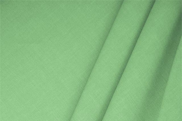 Buy online our clothing and fashion fabric 'Maldive' Green  Linen Blend, Made in Italy. - new tess