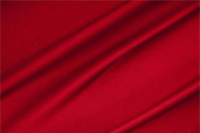 Buy online our clothing and fashion fabric 'Fuoco' Red  Lightweight cotton sateen stretch, Made in Italy. - new tess