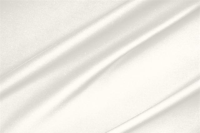 Buy online our clothing and fashion fabric 'Avorio' White  Lightweight cotton sateen stretch, Made in Italy. - new tess