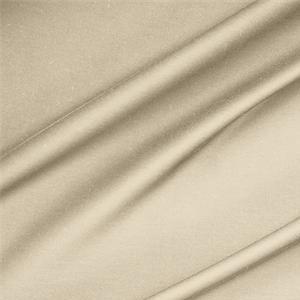 Rasatello di Cotone Stretch Ecru - Tessuti per abbigliamento e moda in vendita al metro