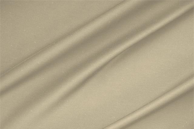 Buy online our clothing and fashion fabric 'Noce' Beige  Lightweight cotton sateen stretch, Made in Italy. - new tess