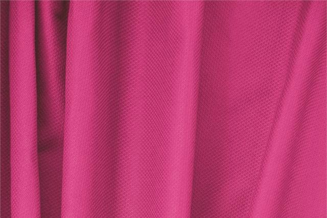 Buy online our clothing and fashion fabric Fuxia Cotton, Stretch Piquet Stretch, Made in Italy. - new tess