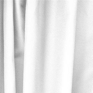 Piquet Stretch Bianco Ottico - Tessuti per abbigliamento e moda in vendita al metro