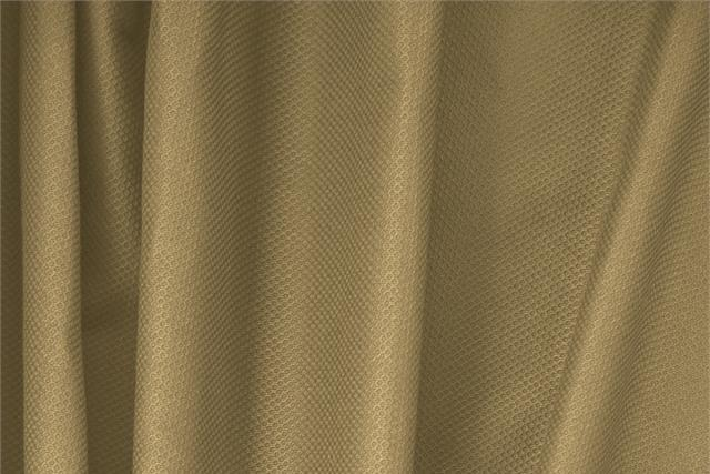 Buy online our clothing and fashion fabric 'Noce' Beige Cotton, Stretch Piquet Stretch, Made in Italy. - new tess