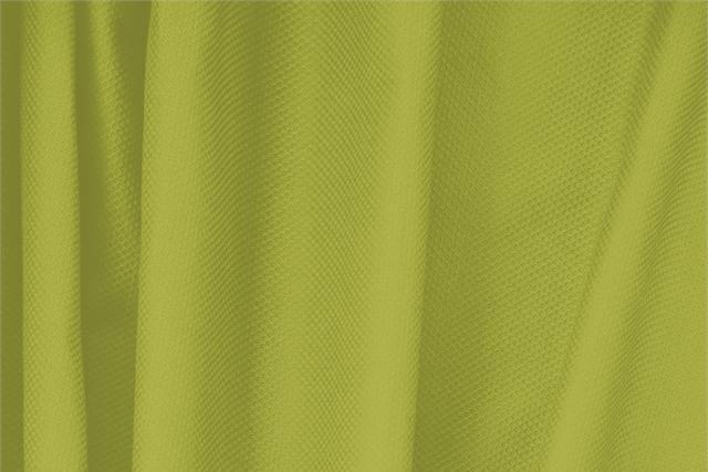 Acquista online il nostro tessuto per abbigliamento, sartoria e moda Piquet Stretch Verde 'Acido' in Cotone, Stretch, Made in Italy. - new tess
