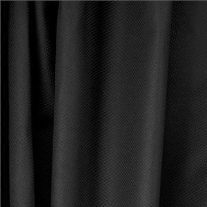 Piquet Stretch Nero - Apparel and fashion fabric by the yard