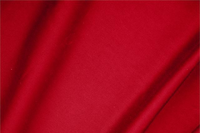 Buy online our clothing and fashion fabric 'Fuoco' Red  Cotton sateen stretch, Made in Italy. - new tess