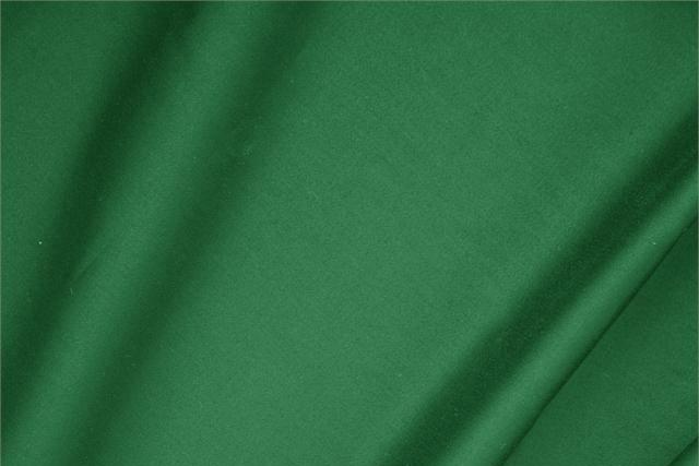 Buy online our clothing and fashion fabric 'Bandiera' Green  Cotton sateen stretch, Made in Italy. - new tess