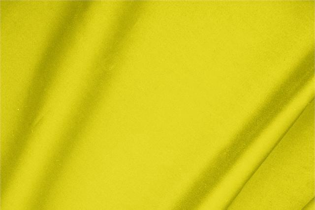 Achetez notre tissu pour habillement, haute couture et mode Satin de coton stretch Jaune Limone, Made in Italy. - new tess