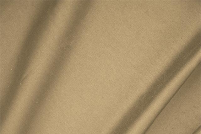 Buy online our clothing and fashion fabric 'Noce' Beige  Cotton sateen stretch, Made in Italy. - new tess