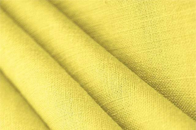 Buy online our clothing and fashion fabric 'Limone' Yellow  Linen Canvas, Made in Italy. - new tess