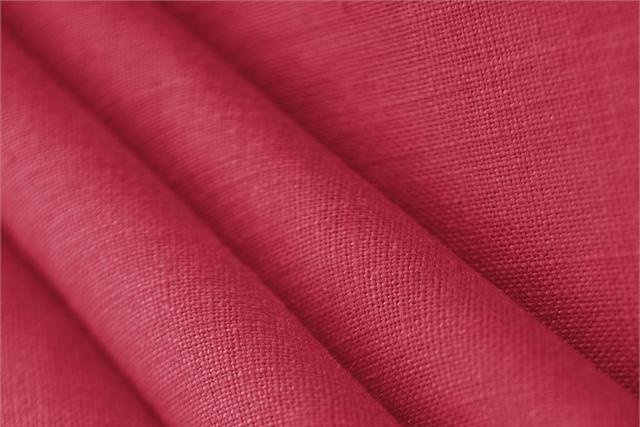 Buy online our clothing and fashion fabric Fuxia  Linen Canvas, Made in Italy. - new tess