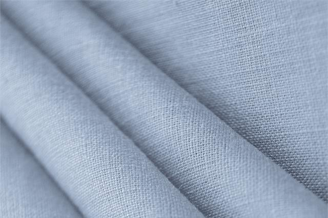 Buy online our clothing and fashion fabric 'Glicine' Purple  Linen Canvas, Made in Italy. - new tess