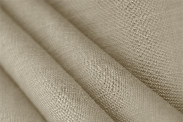 Buy online our clothing and fashion fabric 'Dune' Beige  Linen Canvas, Made in Italy. - new tess