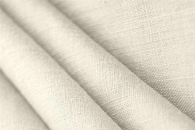 Buy online our clothing and fashion fabric 'Avorio' White  Linen Canvas, Made in Italy. - new tess