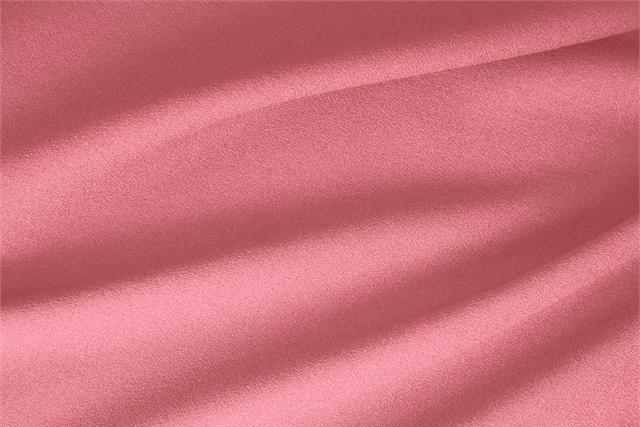 Buy online our clothing and fashion fabric 'Geranio' Pink  Wool Stretch, Made in Italy. - new tess