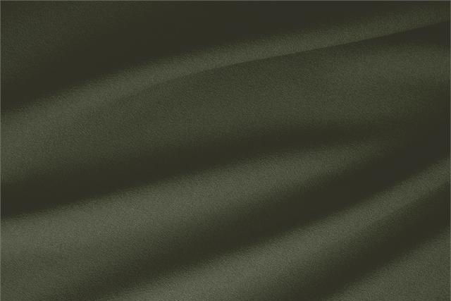 Buy online our clothing and fashion fabric 'Militare' Green  Wool Stretch, Made in Italy. - new tess