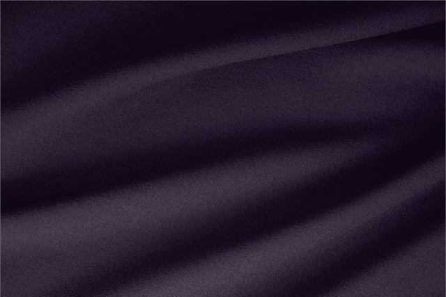 Buy online our clothing and fashion fabric 'Mosto' Purple  Wool Stretch, Made in Italy. - new tess