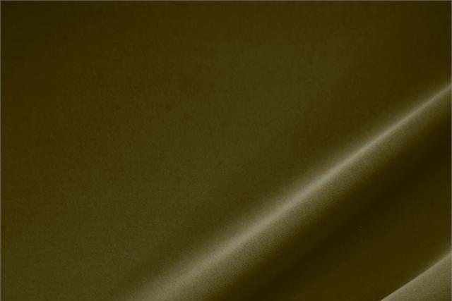 Acquista online il nostro tessuto per abbigliamento, sartoria e moda Microfibra Poliestere Pesante Verde 'Militare', Made in Italy. - new tess