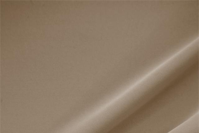 Buy online our clothing and fashion fabric 'Cappuccino' Brown Polyester Heavy Microfiber, Made in Italy. - new tess