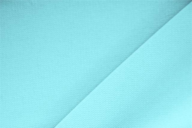 Buy online our clothing and fashion fabric 'Acqua Marina' Blue Polyester Crêpe Microfiber, Made in Italy. - new tess