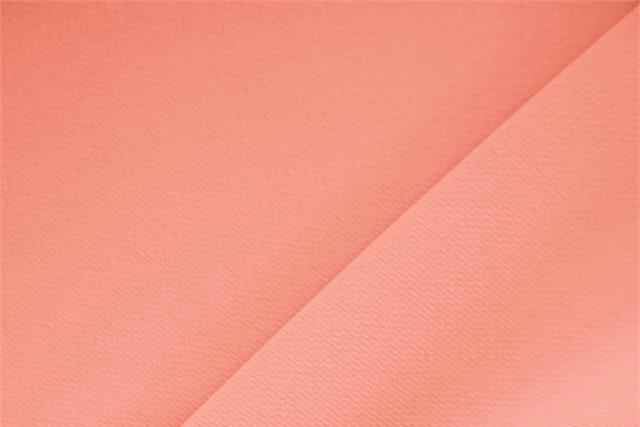 Buy online our clothing and fashion fabric Microfibra Crepe Salmone. - new tess