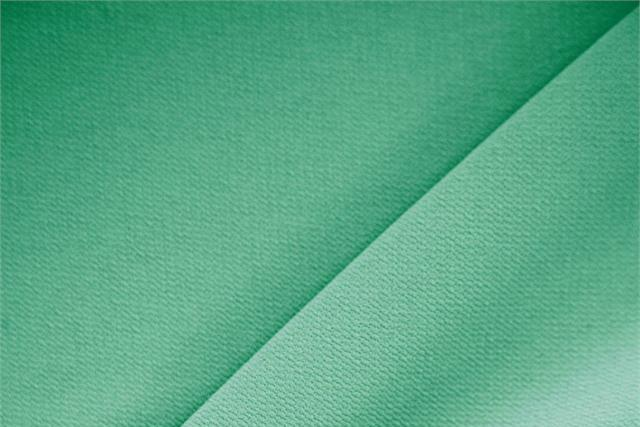 Buy online our clothing and fashion fabric 'Prato' Green Polyester Crêpe Microfiber, Made in Italy. - new tess
