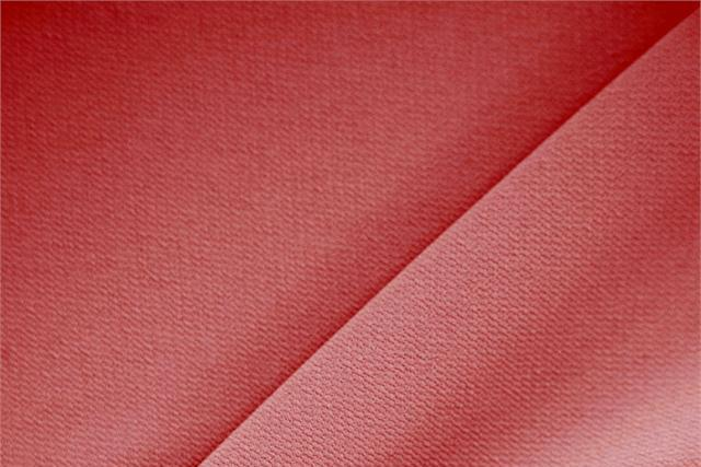 Buy online our clothing and fashion fabric 'Carminio' Red Polyester Crêpe Microfiber, Made in Italy. - new tess