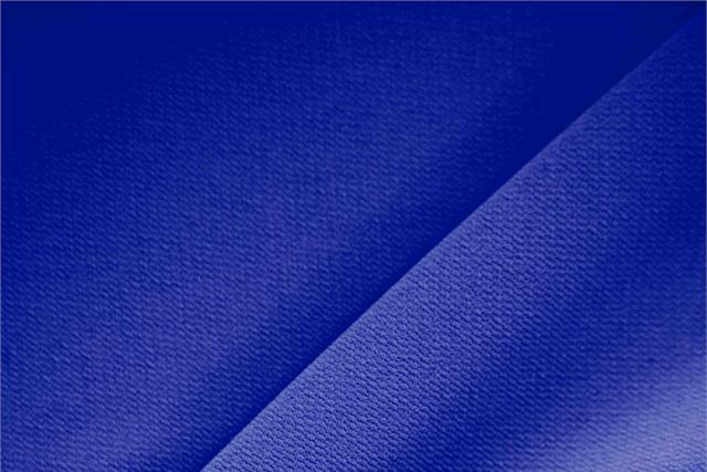 Achetez notre tissu pour habillement, haute couture et mode Microfibre Crêpe Bleu 'Blu Cina' en Polyester, Made in Italy. - new tess