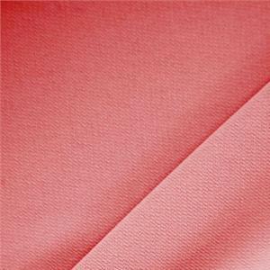 Tissu Uni Microfibre Crêpe Rouge Geranio en Polyester pour Jupe, Pantalon, Robe, Veste, Veste-Manteau légère.