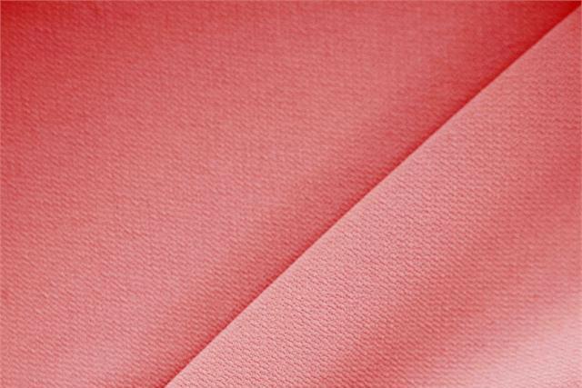 Geranio Red Polyester Crêpe Microfiber fabric for dressmaking