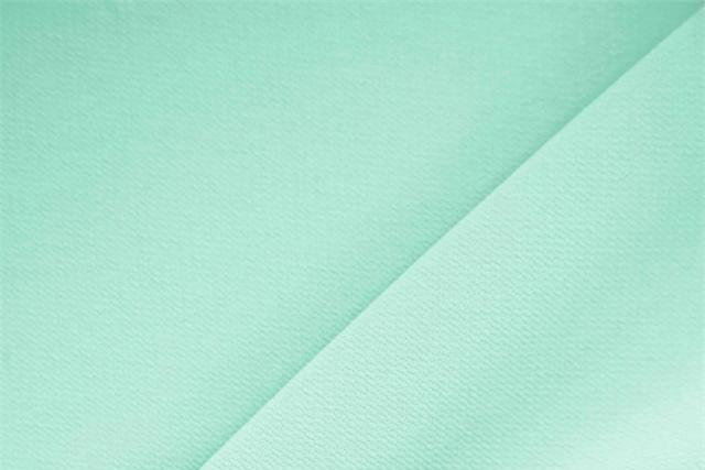 Buy online our clothing and fashion fabric 'Menta' Green Polyester Crêpe Microfiber, Made in Italy. - new tess