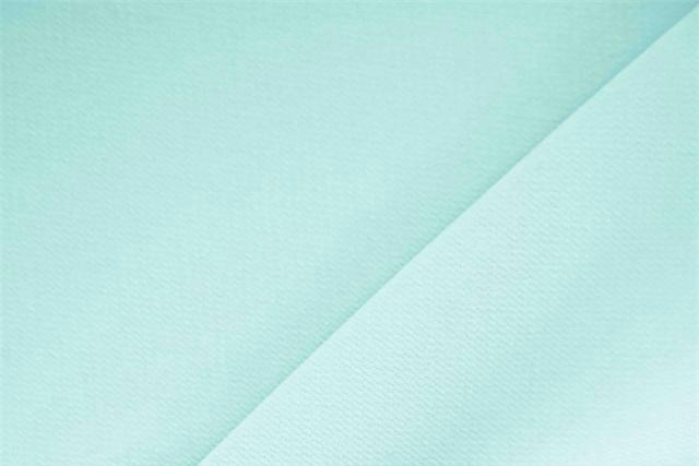 Buy online our clothing and fashion fabric 'Celadon' Blue Polyester Crêpe Microfiber, Made in Italy. - new tess