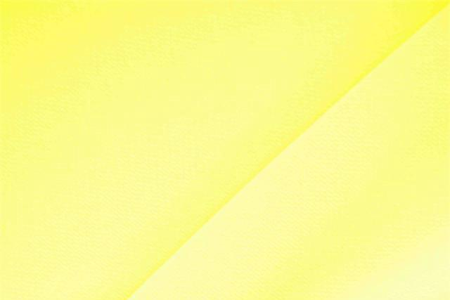 Girasole Yellow Polyester Crêpe Microfiber fabric for dressmaking