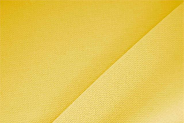 Zafferano Yellow Polyester Crêpe Microfiber fabric for dressmaking