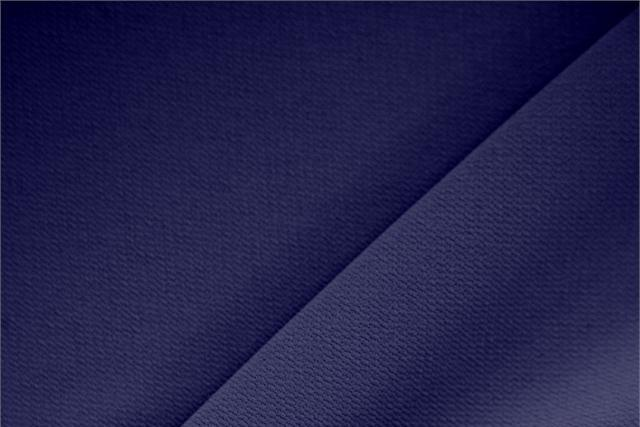 Notte Blue Polyester Crêpe Microfiber fabric for dressmaking