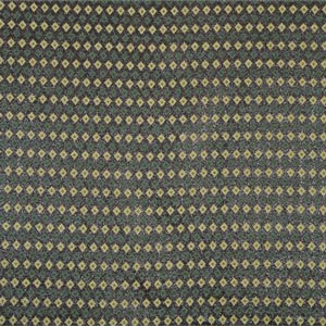 Black, Green Greca Lamè M1-600 Fabric