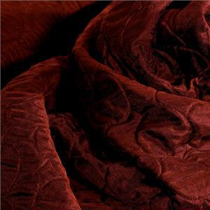 Red Mixed Abstract Coat fabric for Coat.