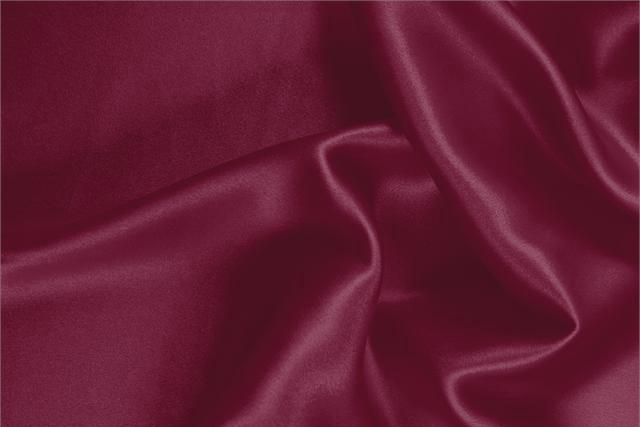 Buy online our clothing and fashion fabric 'Cerise' Purple Silk Crêpe Satin, Made in Italy. - new tess
