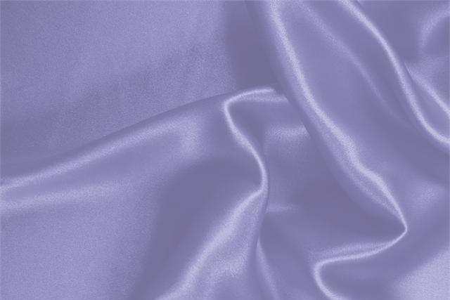 Buy online our clothing and fashion fabric 'Glicine' Purple Silk Crêpe Satin, Made in Italy. - new tess