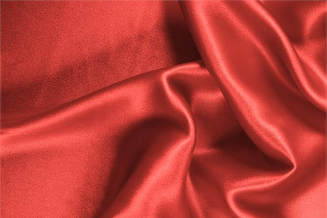 Buy online our clothing and fashion fabric 'Geranio' Pink Silk Crêpe Satin, Made in Italy. - new tess