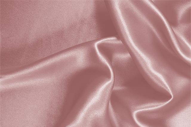 Achetez notre tissu pour habillement, haute couture et mode Crêpe Satin Rose 'Phard' en Soie, Made in Italy. - new tess
