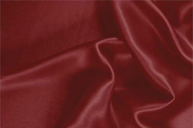 best website 932f7 19985 Tessuto Crêpe Satin Rosso Amaranto in Seta per abbigliamento