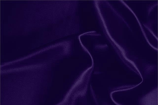 Buy online our clothing and fashion fabric Silk Satin Stretch Purple Violetta, Made in Italy. - new tess